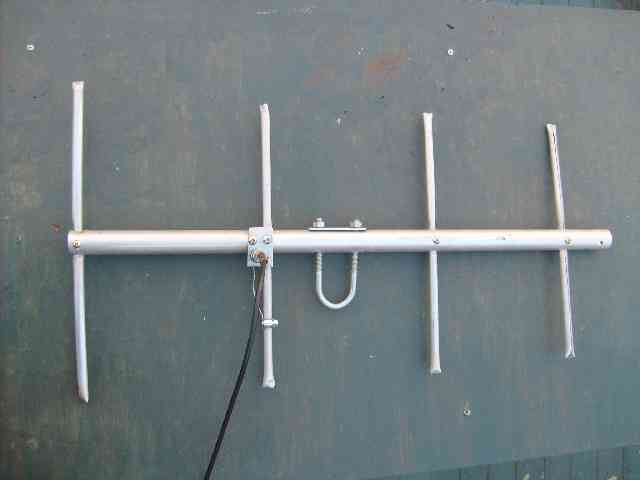 4 element yagi for 70 cm